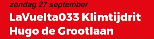 Inschrijven tot 26 september 12.00 uur!