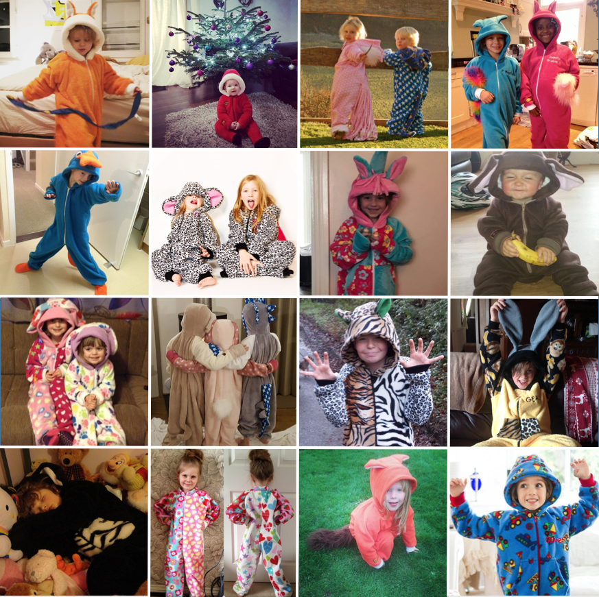 Onesie Gift Vouchers - The All-in-One Company
