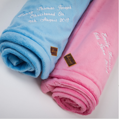 Create-your-Own Accessories - personalised blanket - The All-in-One Company