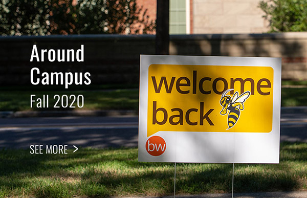 photos of BW students on campus