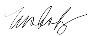 Taylor Eighmy signature