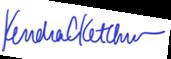 Veronca Mendez signature