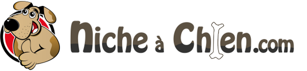 Logo niche à chien