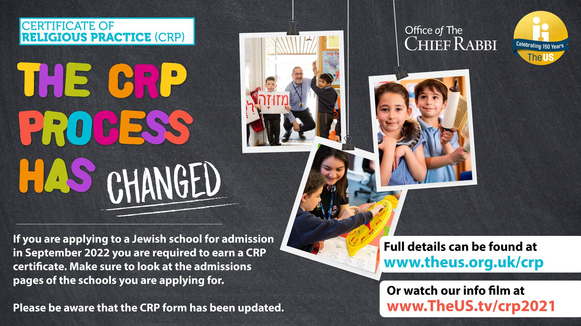 The CRP process has changed