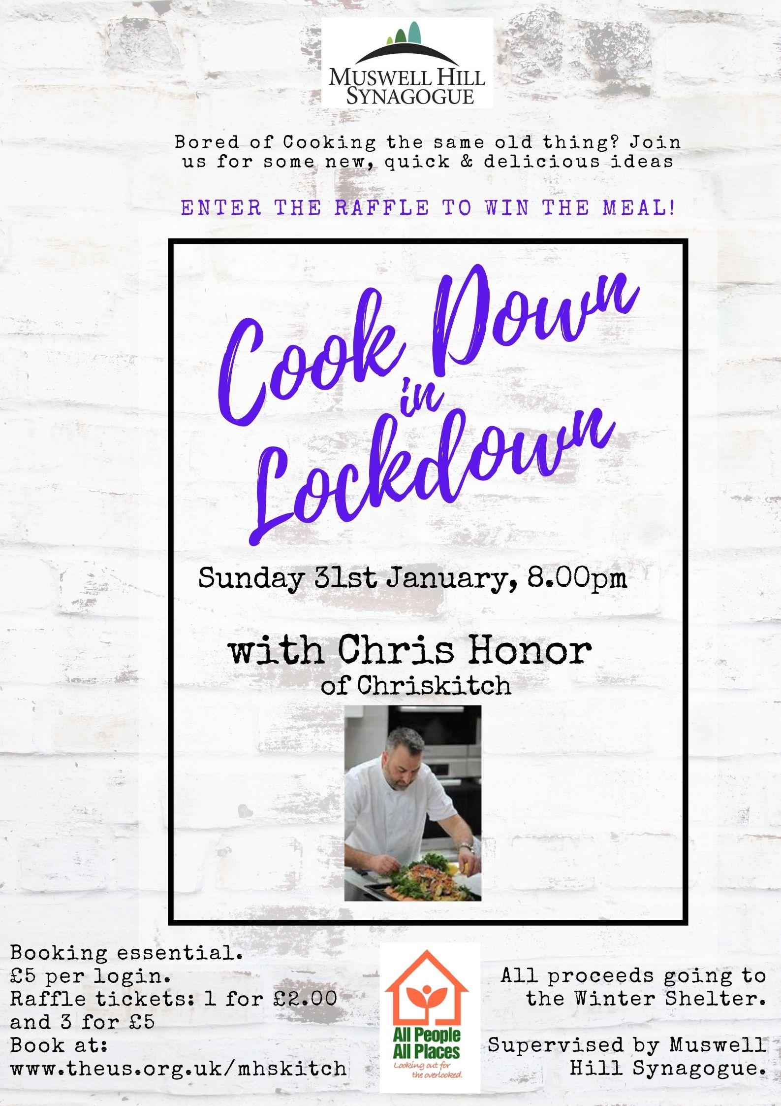 Cook Down in Lockdown