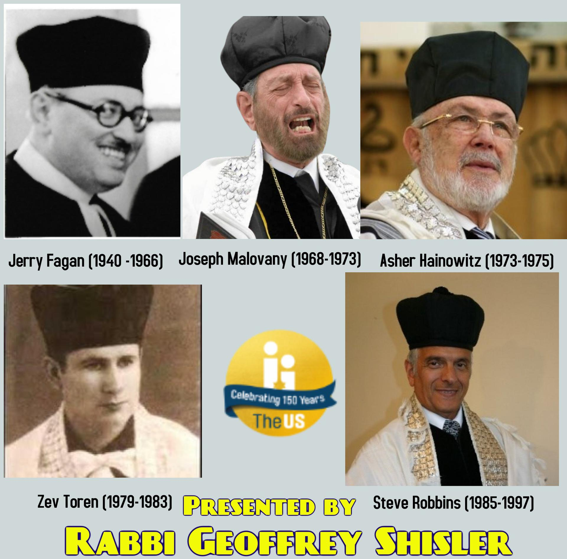 EUS cantors in the 20th century