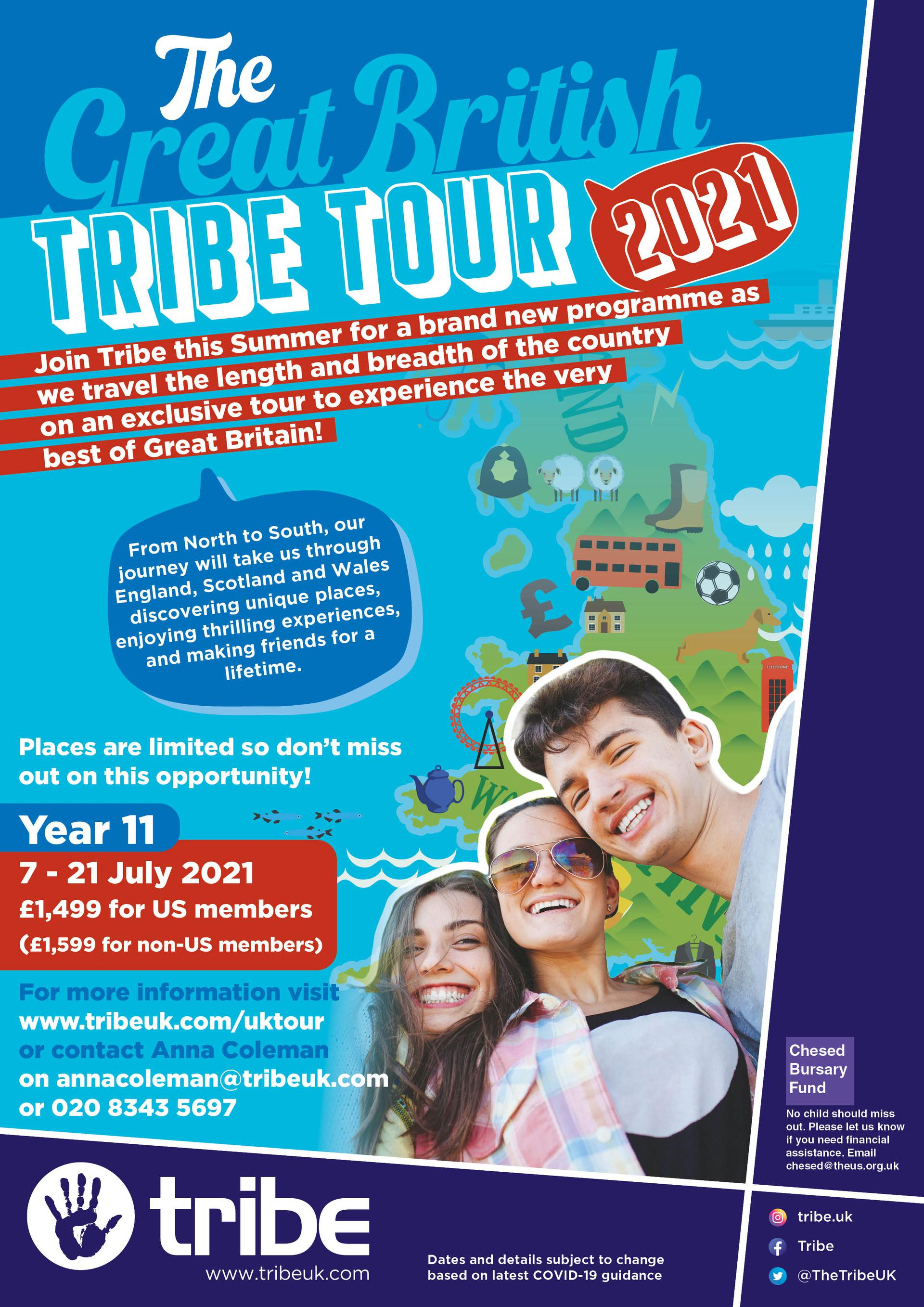 The Great British Tribe Tour