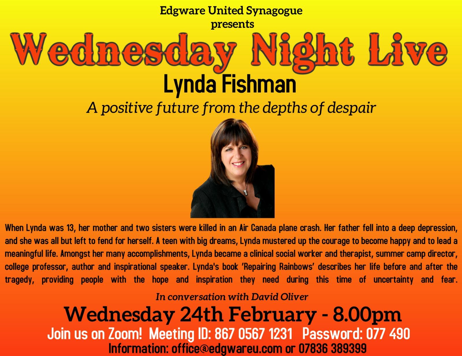 Edgware presents: Lynda Fishman
