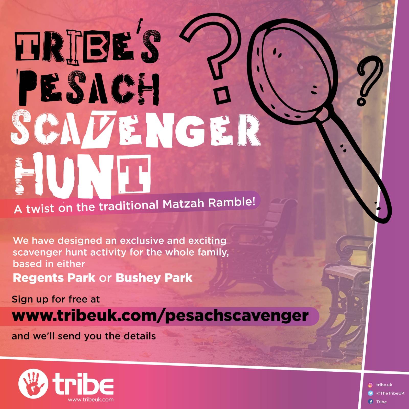 Pesach scavenger hunt