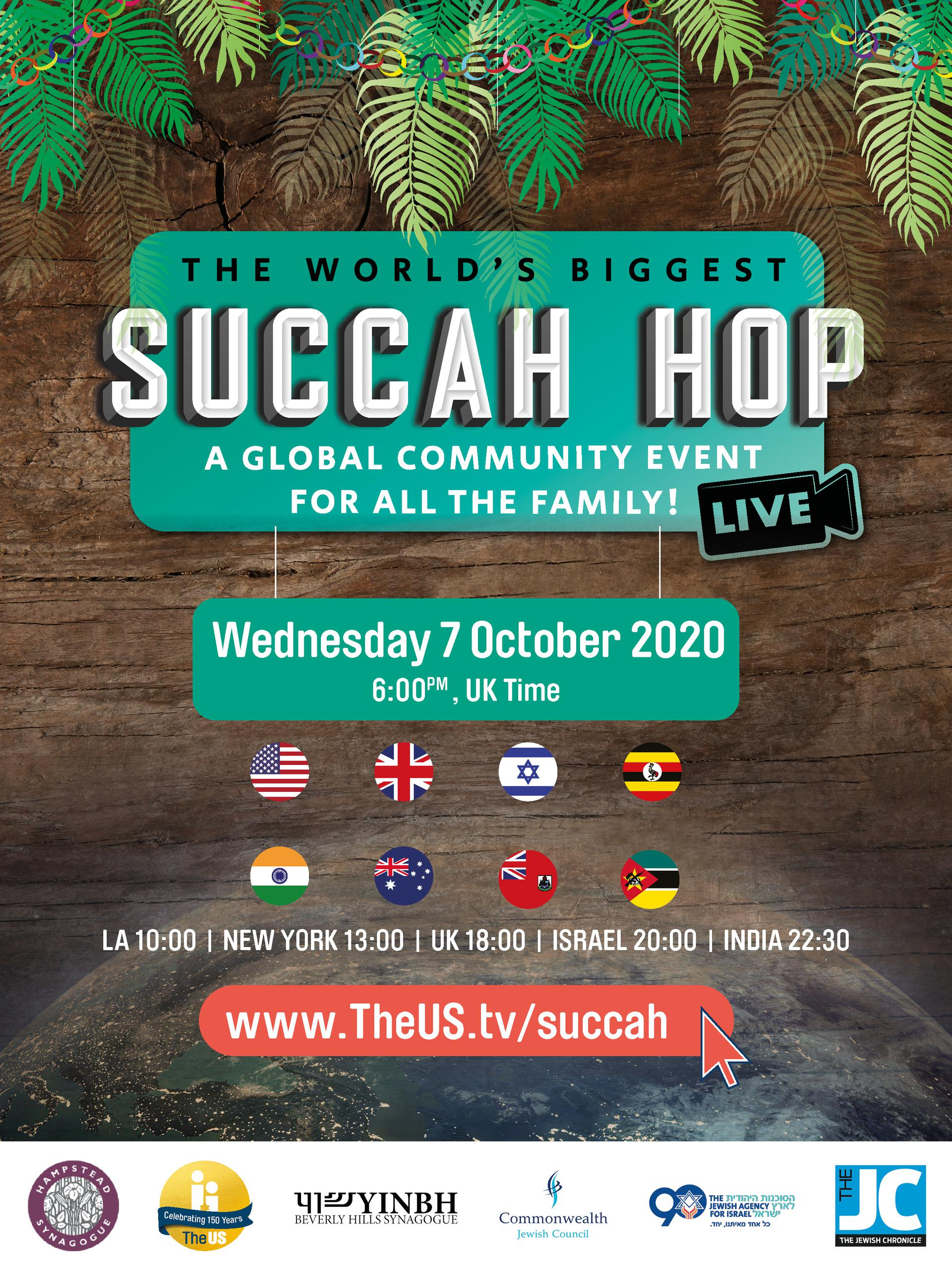 The world's biggest Succah hop