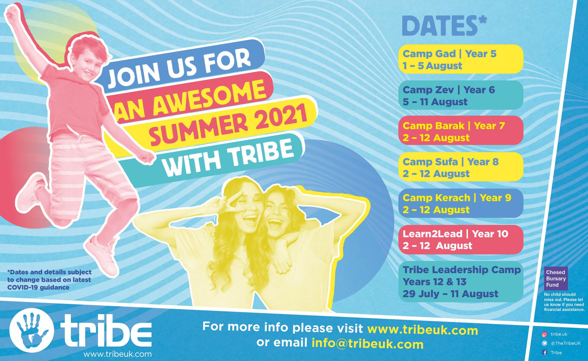 Tribe summer camps!