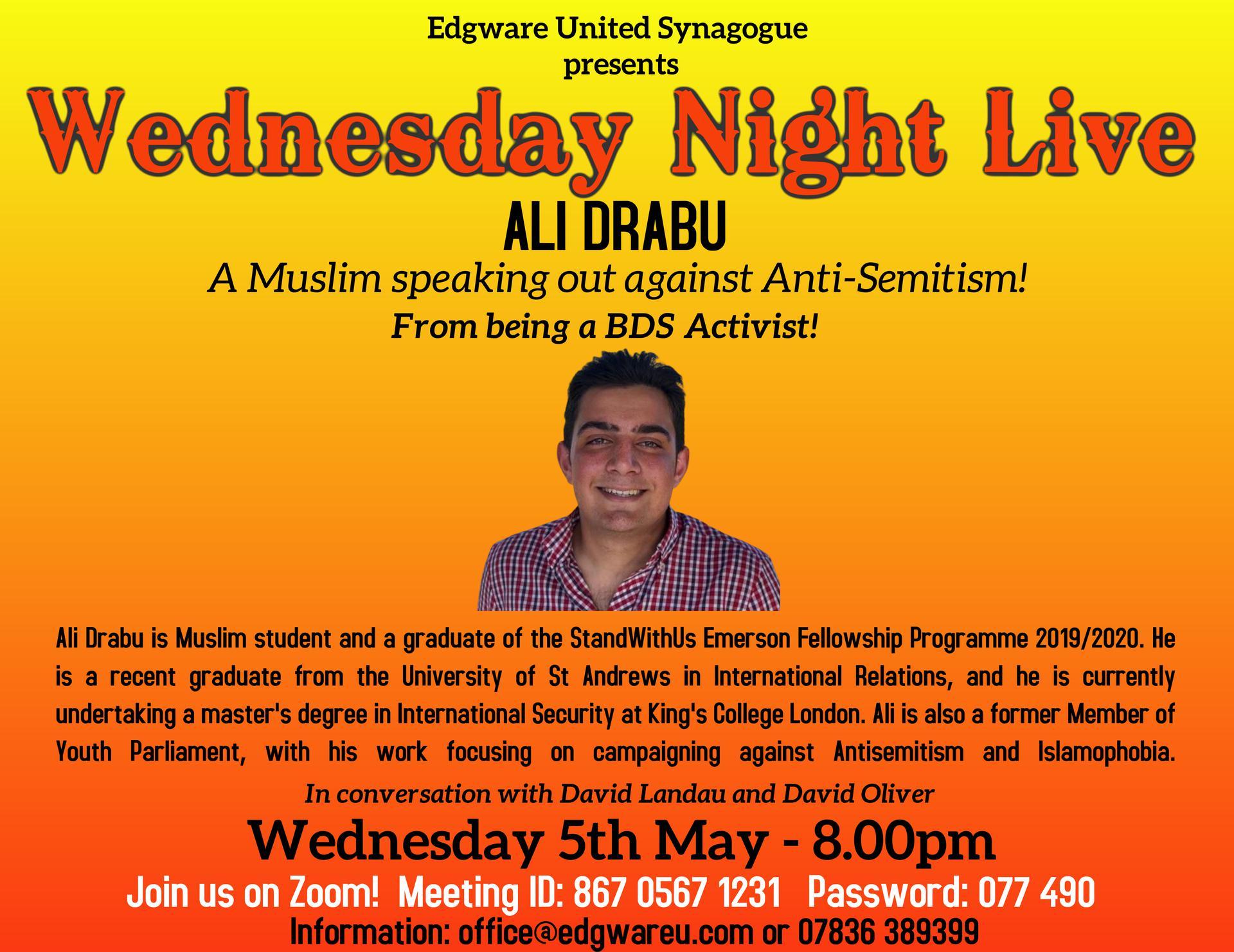 Edgware presents: Ali Drabu