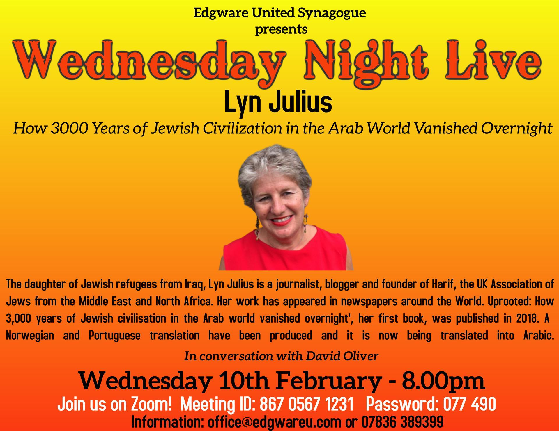 Edgware presents: Lyn Julius