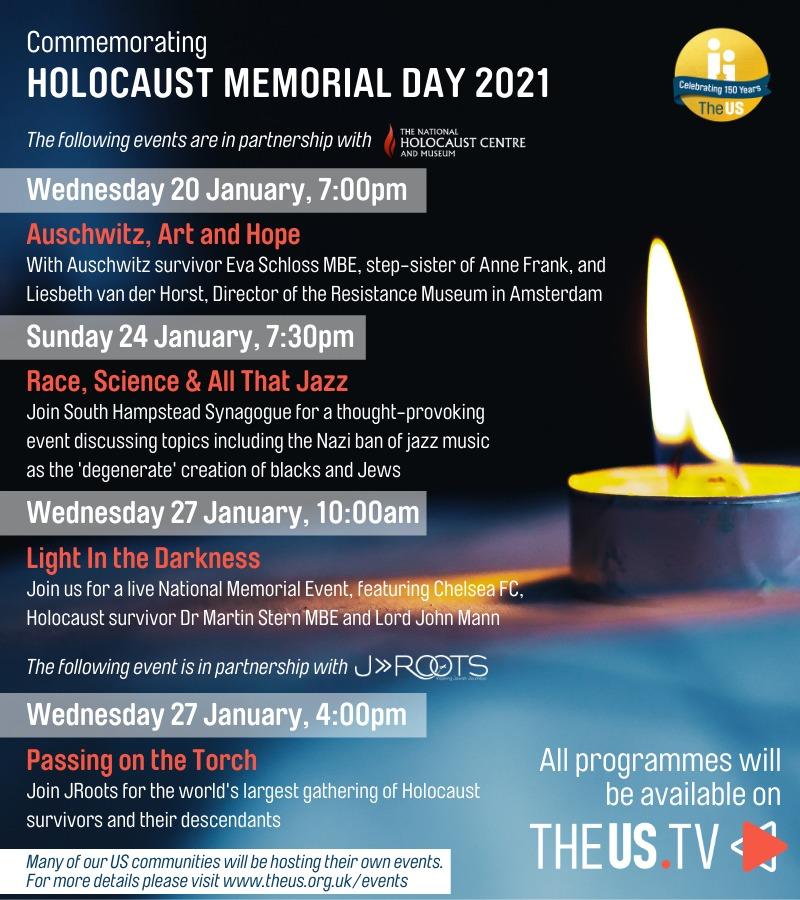 Holocaust Memorial Day 2021