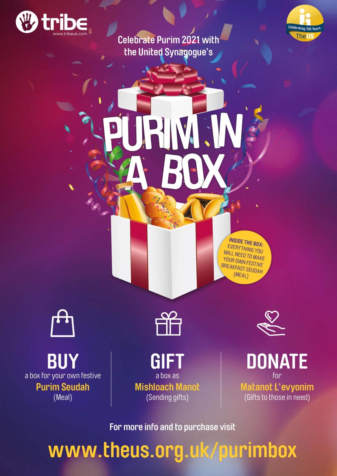Purim in a Box