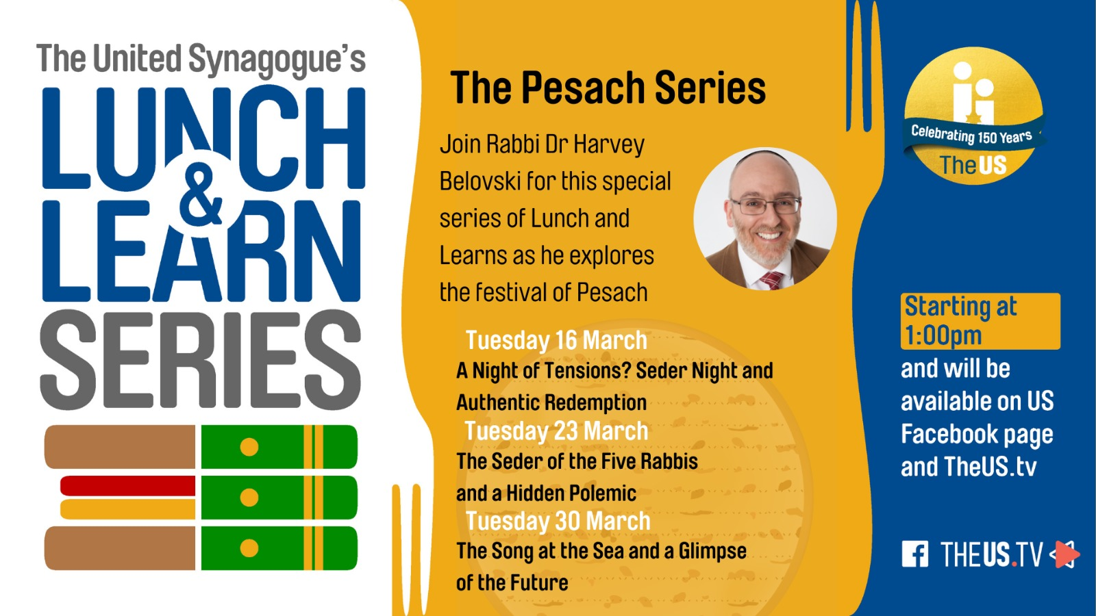 Lunch & Learn: The Pesach Series