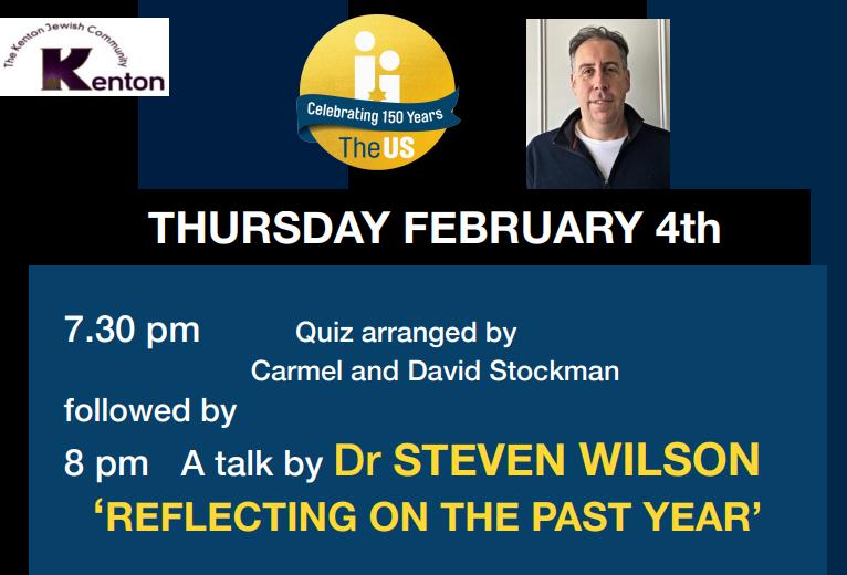 Kenton presents: Dr Steven Wilson