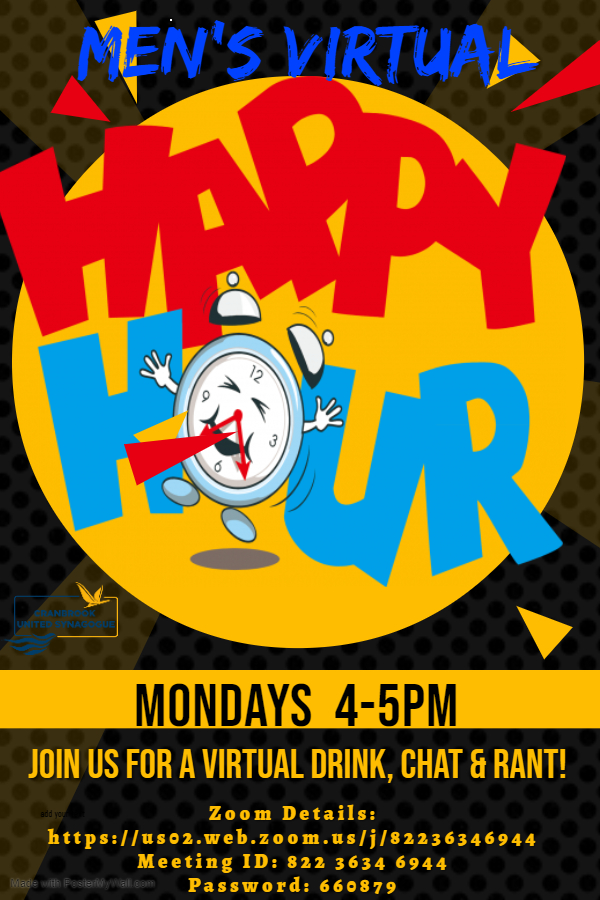 Men's Virtual Happy Hour