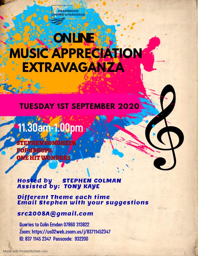Virtual Music Extravaganza