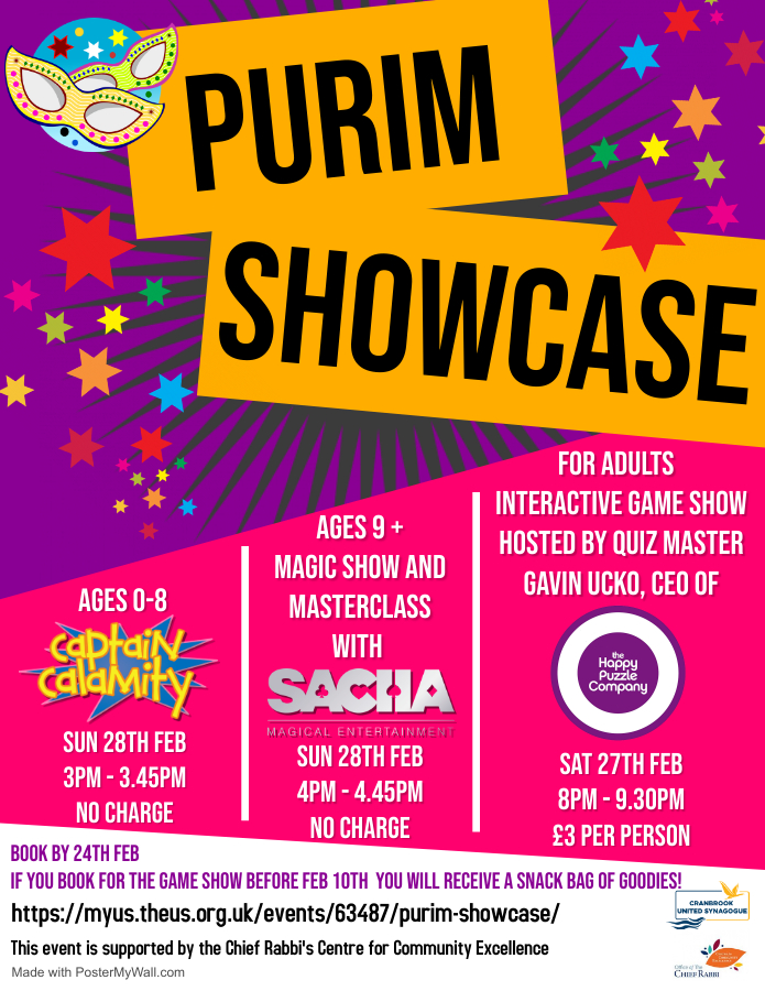 Purim Showcase