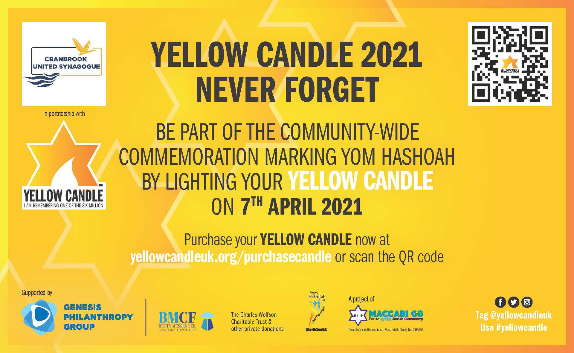 Yellow Candle 2021