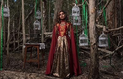 Artwork: Fiona FOLEY, 'The Magna Carta Tree #2' 2021. Fujiflex digital print. Courtesy the artist and Andrew Baker Art Dealer, Brisbane. Photo: Mick Richards