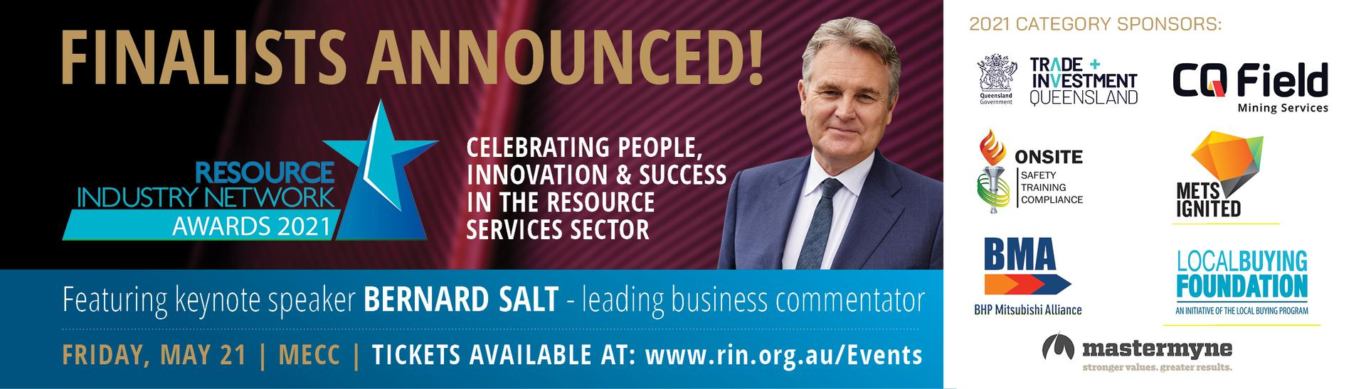RIN Awards - get your tickets!