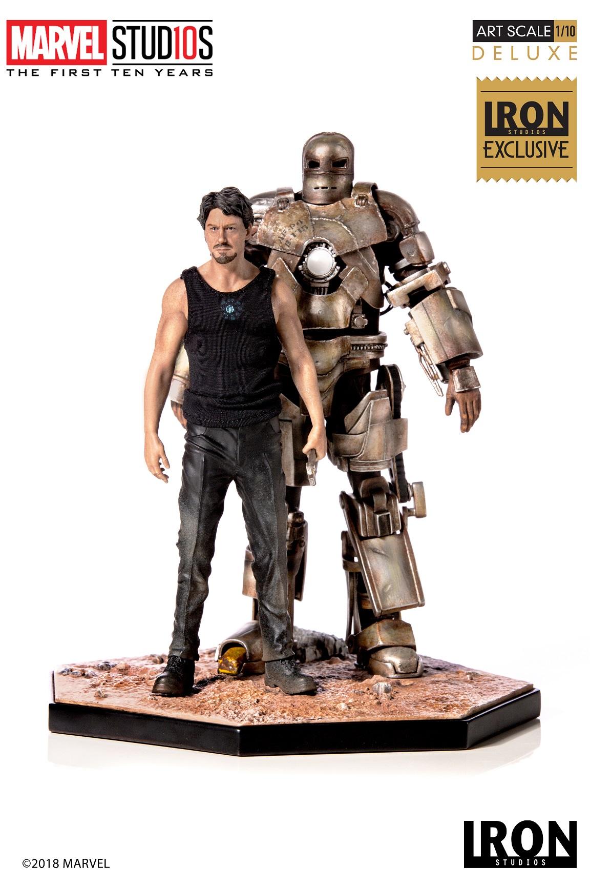 Tony Stark & Mark I