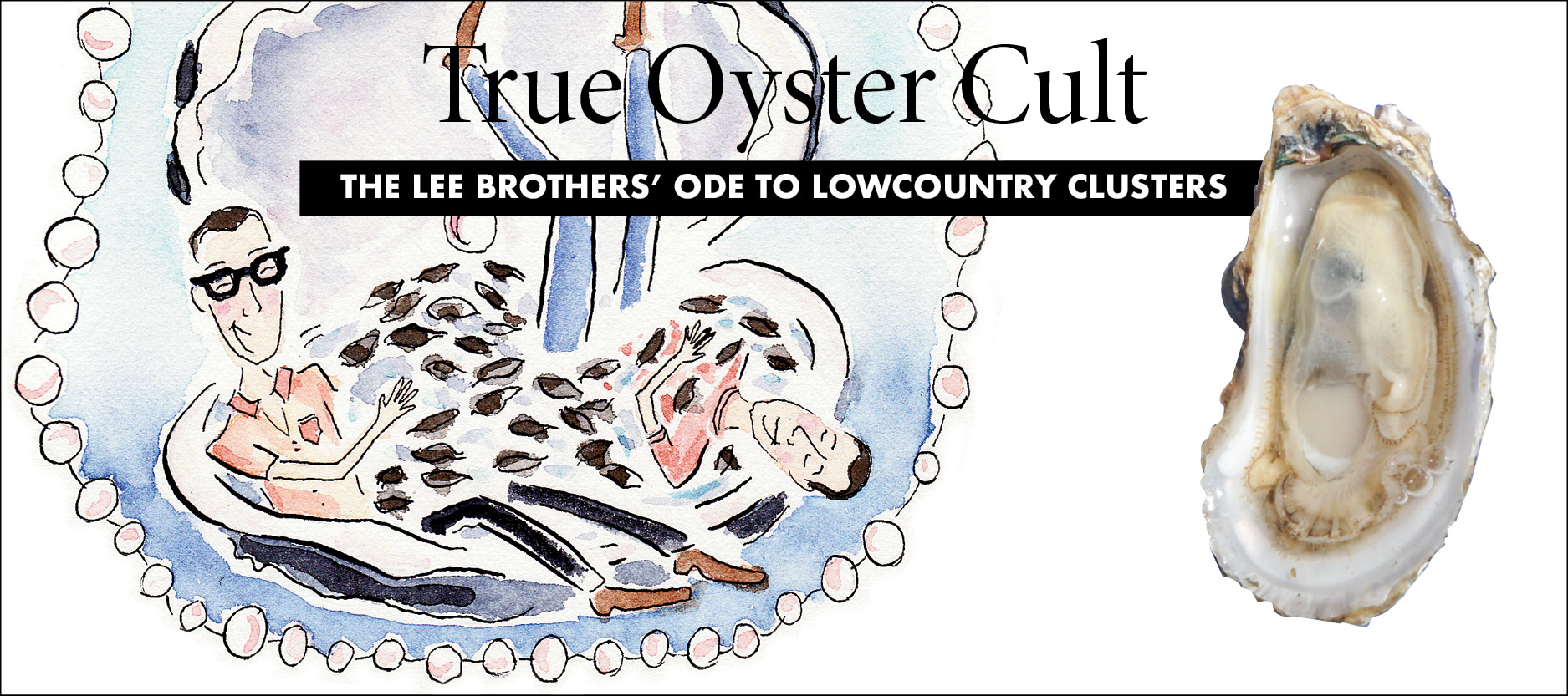 The Lee Brothers's Ode to Lowcountry Clusters