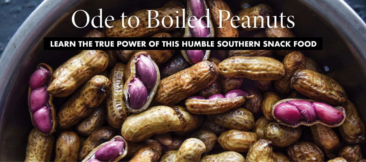 Ode to Boiled Peanuts