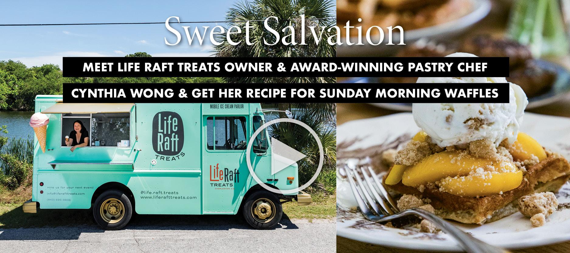 Cynthia Wong Profile & her Sunday Waffles & Ice Cream recipe