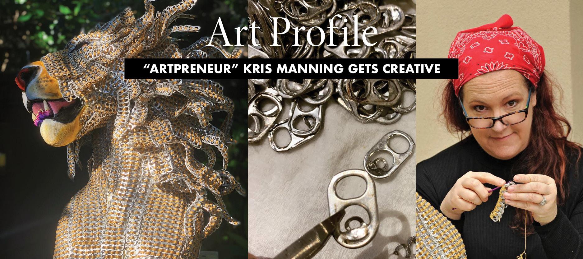 Art Profile: Kris Manning