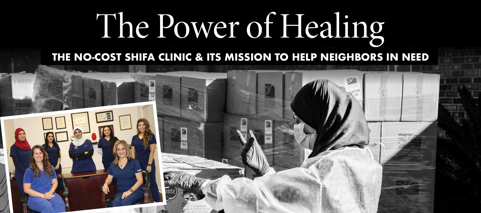 Giving Back Shifa Clinic - Back to School event