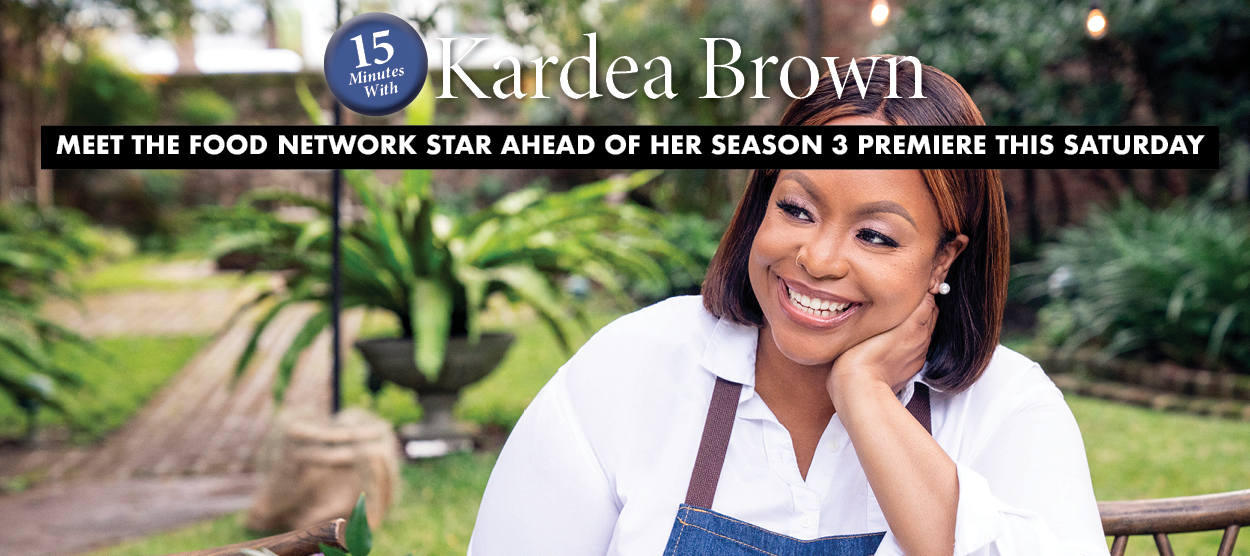 15 Minutes With Kardea Brown