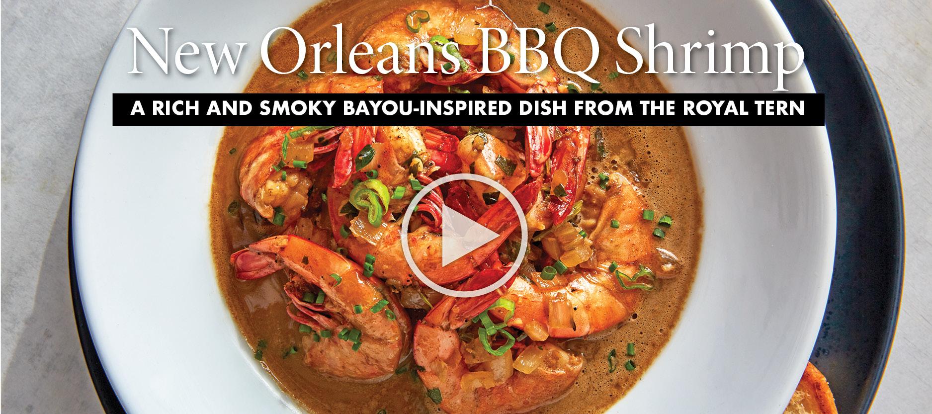 Royal Tern New Orleans BBQ Shrimp