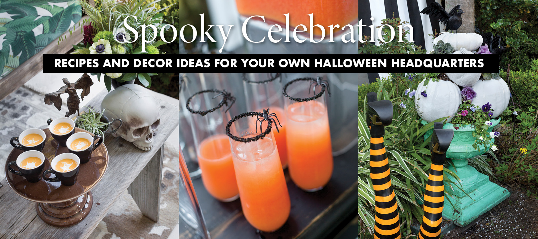 Halloween Headquarters Recipes & Decor