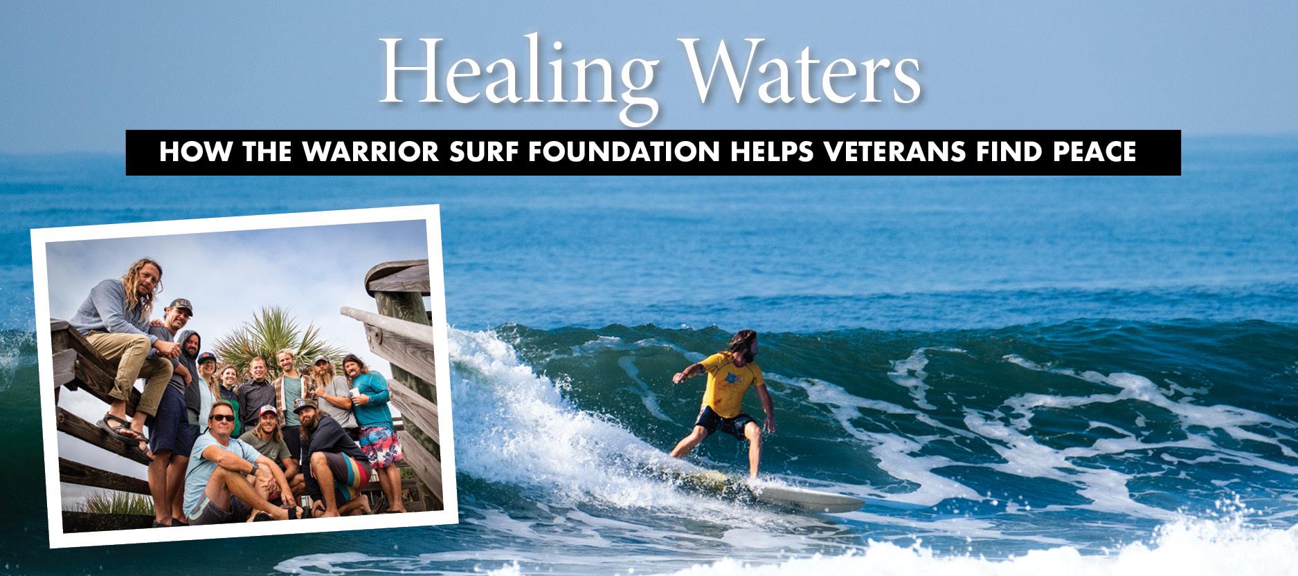 Giving Back: Warrior Surf Foundation