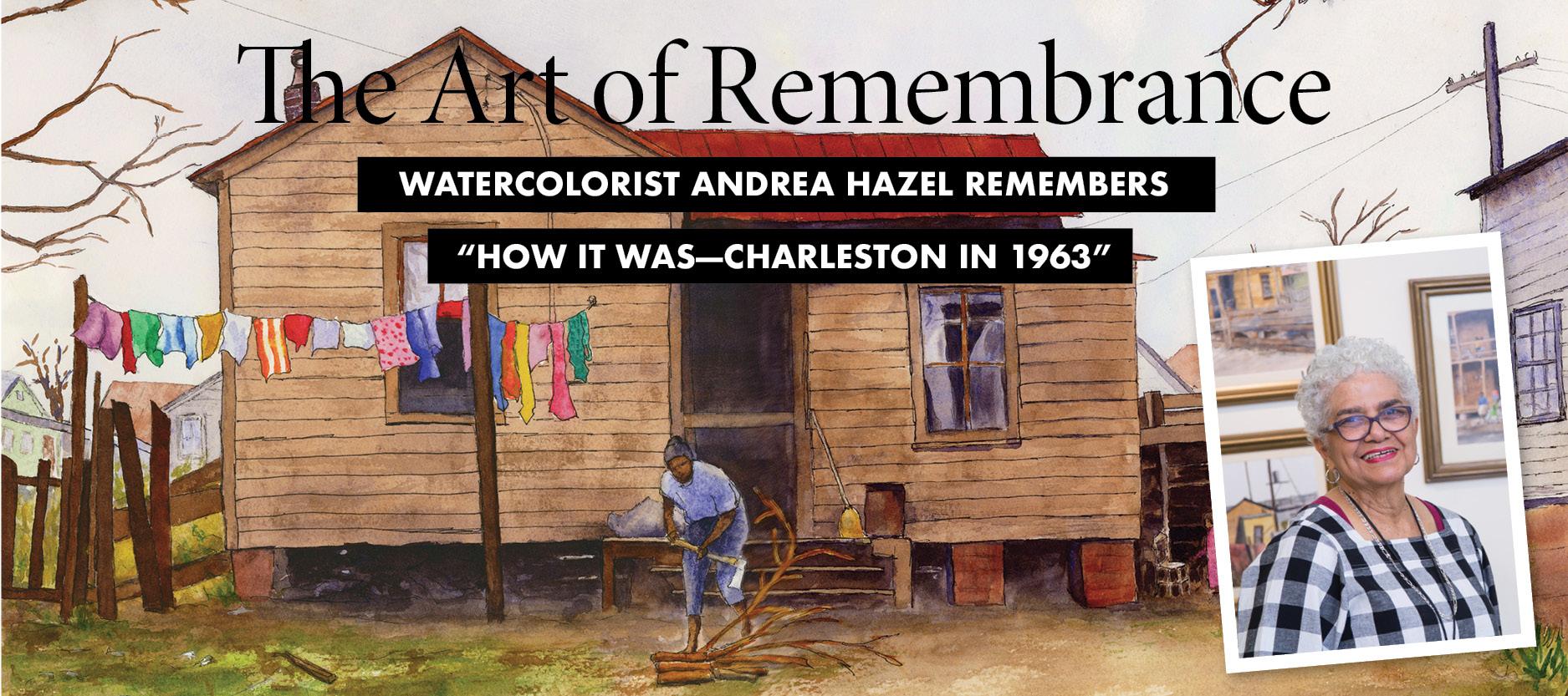 Arts Profile: Andrea Hazel