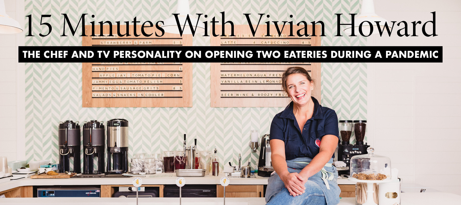 15 Mins w/ Vivian Howard