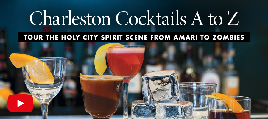 Charleston Cocktails A to Z