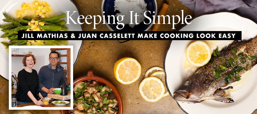 In the Kitchen: Keeping it Simple