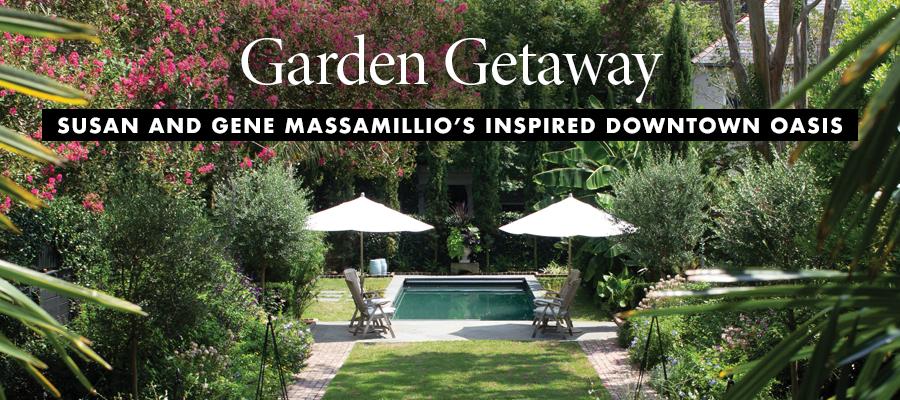 Charleston Home: Garden Getaway