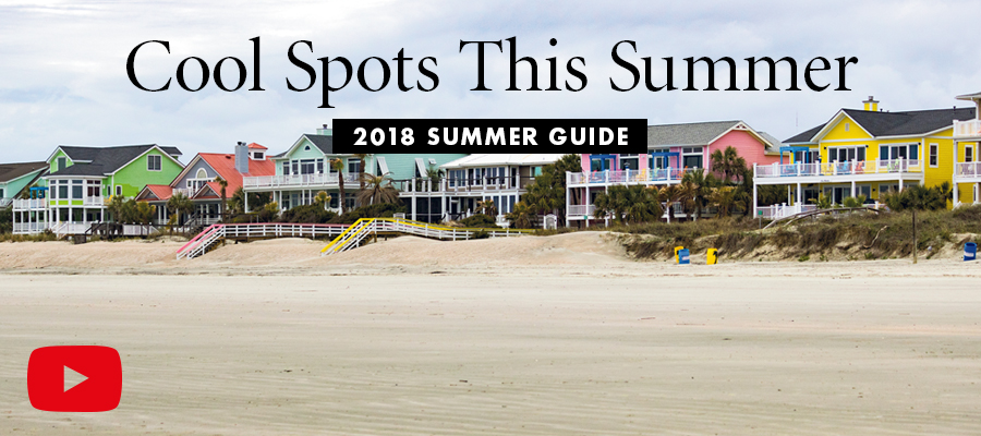 Cool Spots This Summer