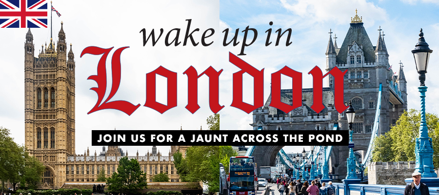 Feature: Wake Up in London