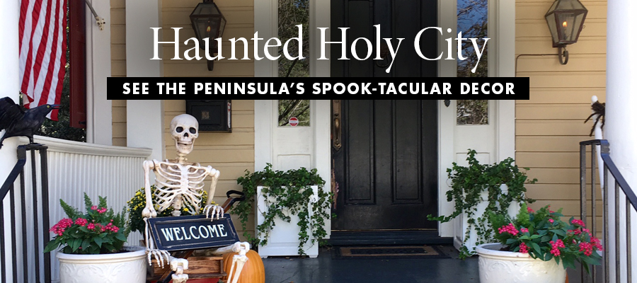 Haunted Holy City