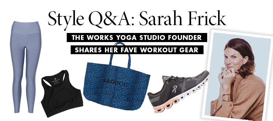 Style Q&A: Sarah Frick