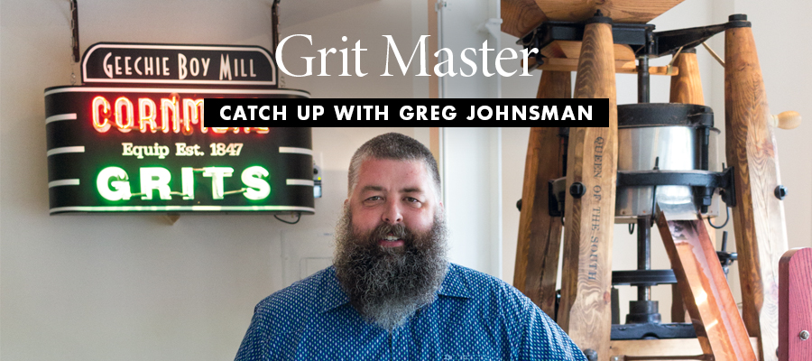 Grit Master: Catch Up with Greg Johnsman