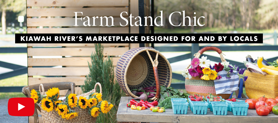 Channel Markers: Farm Stand Chic