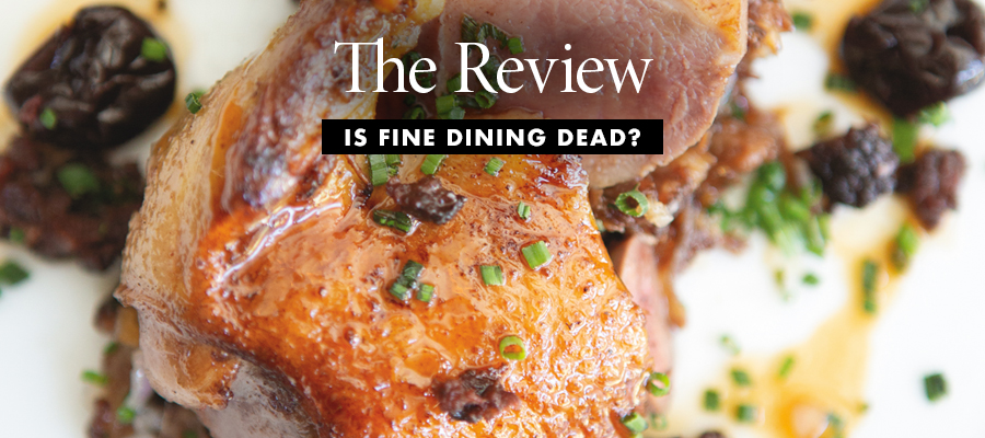 The Review: Is Fine Dining Dead? (Charleston Grill)