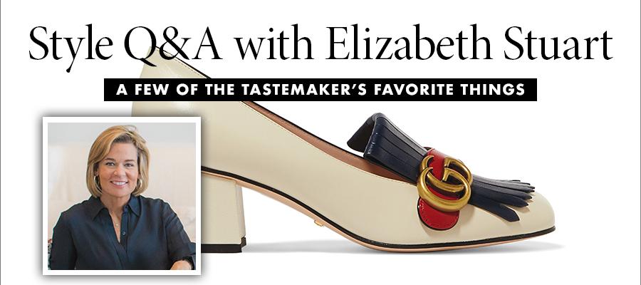 Style Q & A: Elizabeth Stuart